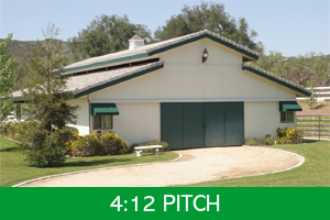 412 Pitch Roof